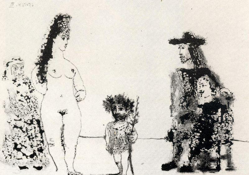 Пабло Пикассо. Сюжет 58