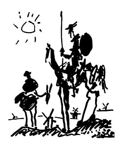 Пабло Пикассо. Дон Кихот