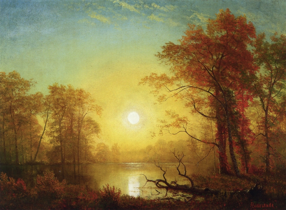 Альберт Бирштадт. Восходящее солнце