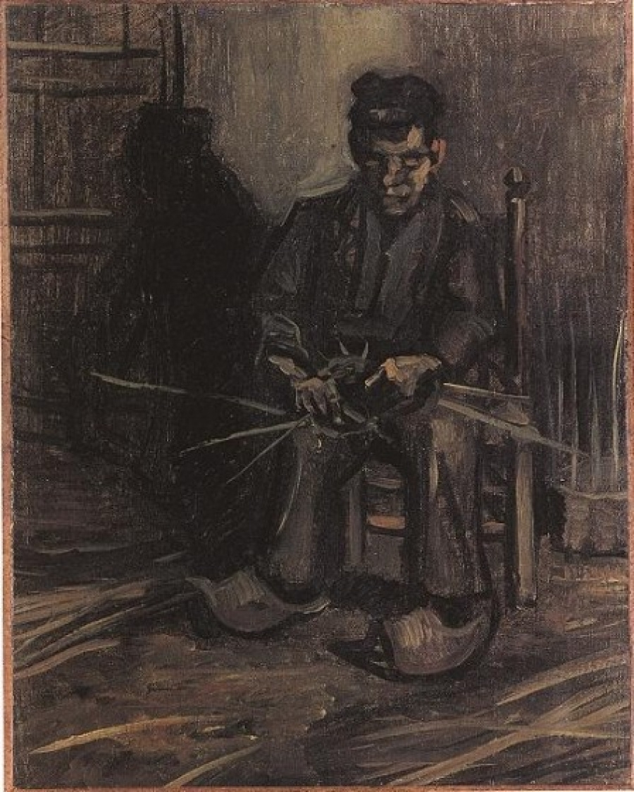 Vincent van Gogh. The farmer who produced the basket