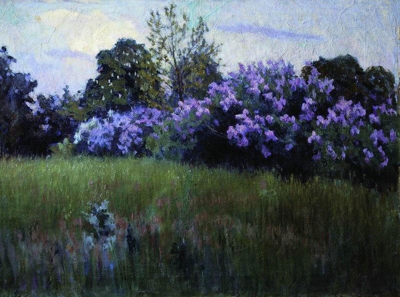 Tit Yakovlevich Dvornikov. Lilac blossoms