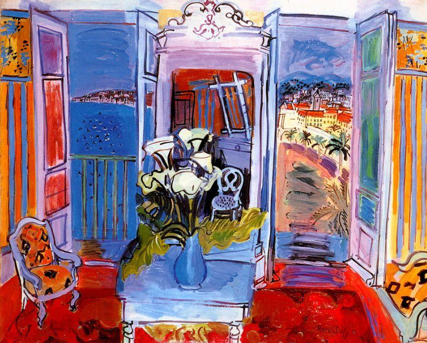 Raoul Dufy. Waterfront views
