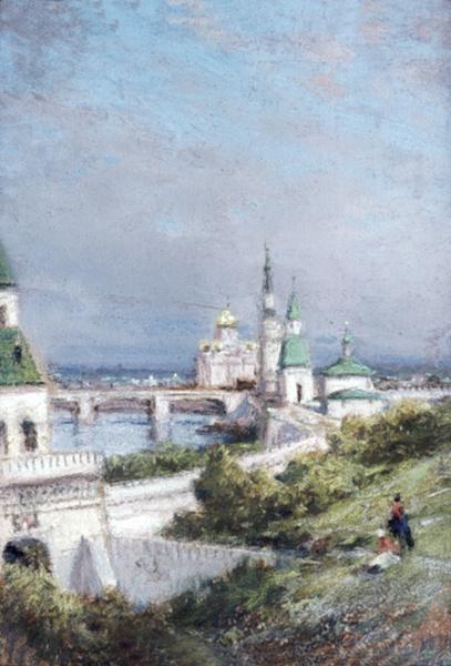 Алексей Петрович Боголюбов. Вид Кремля