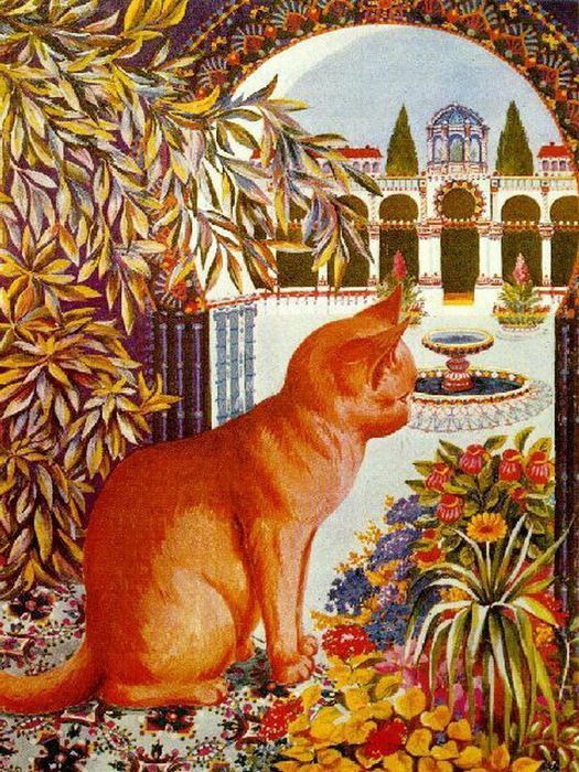 Louis Wain. Perfect cat