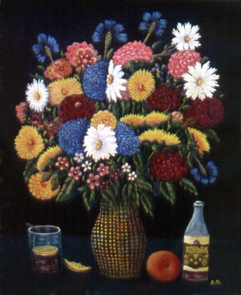 Alexander Alexandrovich Mukhin. Bouquet