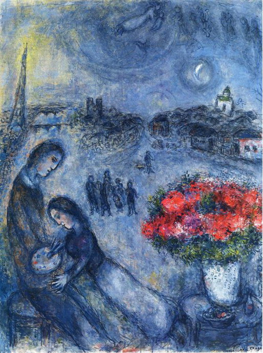 Marc Chagall. Artist and His Bride