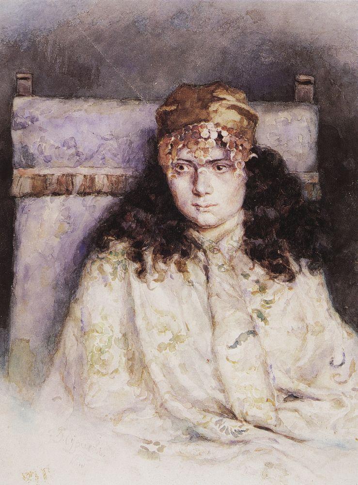 Василий Иванович Суриков. Женский портрет