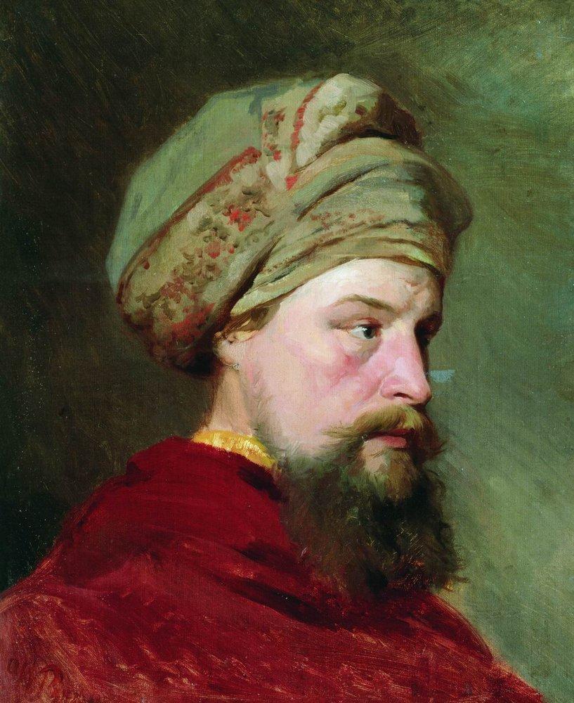 Ilya Efimovich Repin. The head of the sitter