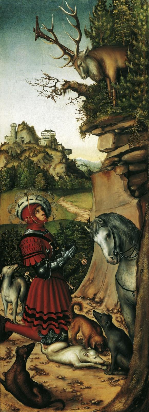 Lucas Cranach the Elder. Saint Eustathius