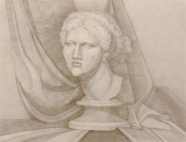 Larissa Lukaneva. Голова Венеры