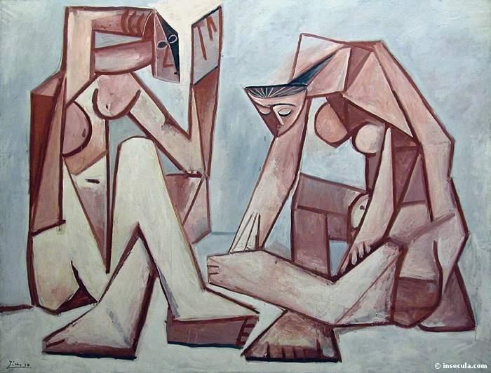 Пабло Пикассо. Женщины и море