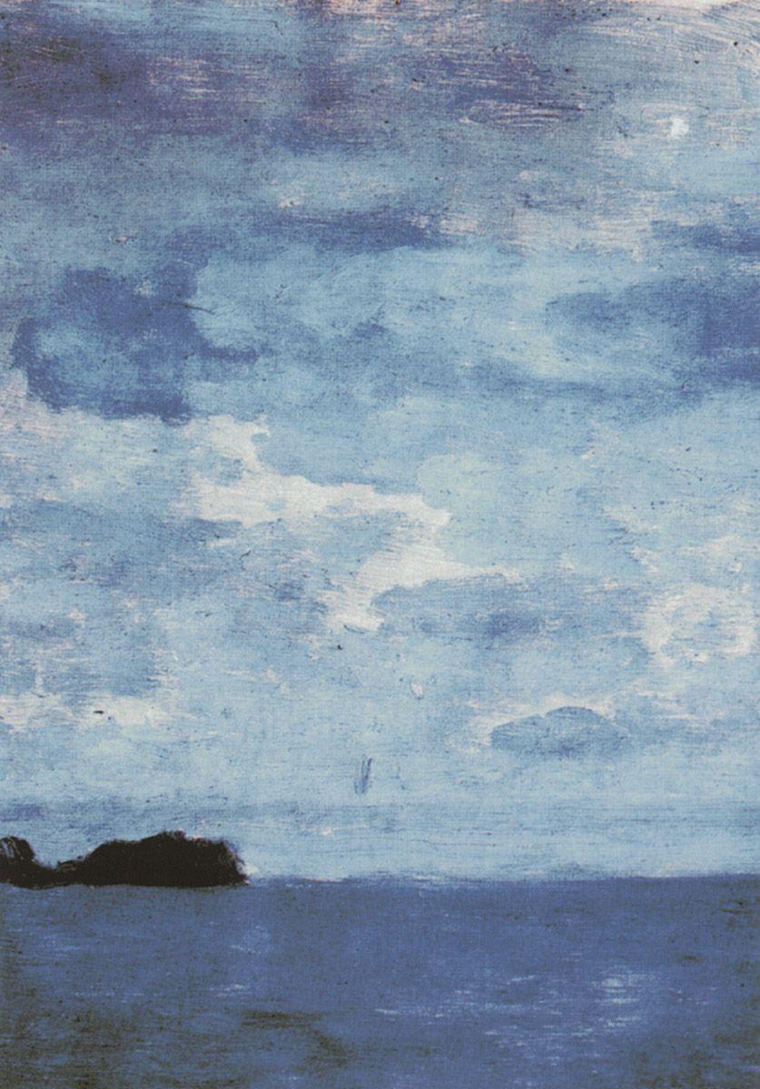 Isaac Levitan. Sea. Finland