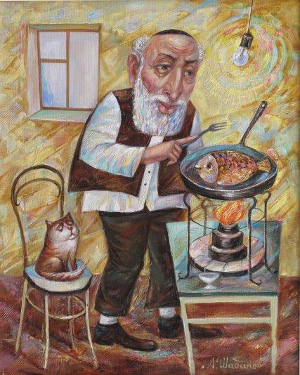 Alexander Nikolaevich Shabanov. TUESDAY ... Tuesday Oil on canvas 50 * 40