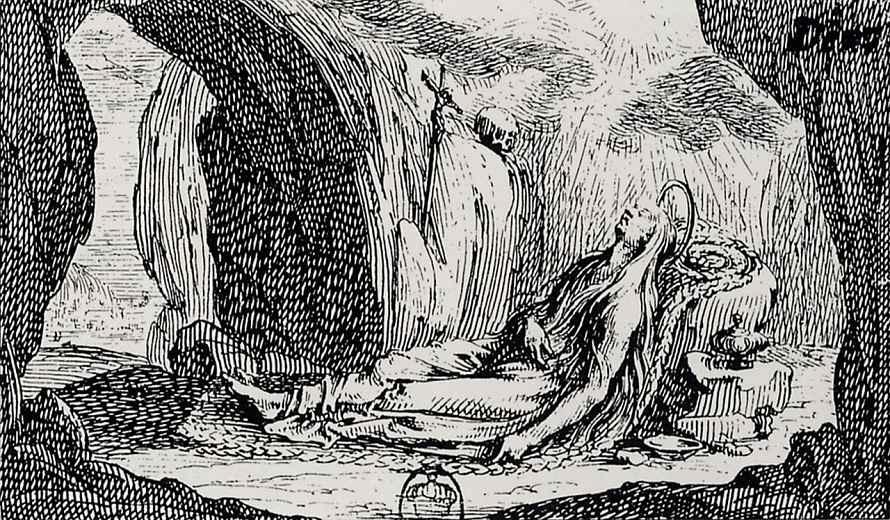 Жак Калло. Смерть Святой Марии Магдалины