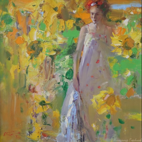 Alexander Vladimirovich Gorbikov. Sunflowers