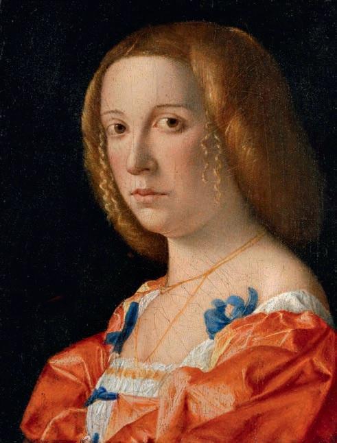 Джованни Кариани. «Портрет молодой женщины».