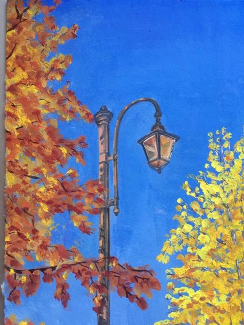 Tatiana Lagunova. September lantern