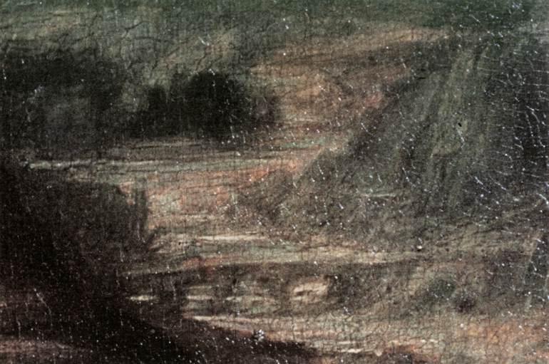 Леонардо да Винчи. Мона Лиза (фрагмент)