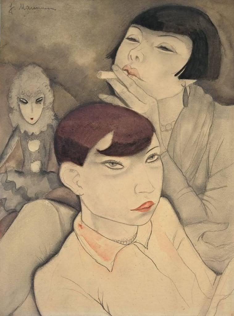 Jeanne Mammen. Boring Dolls