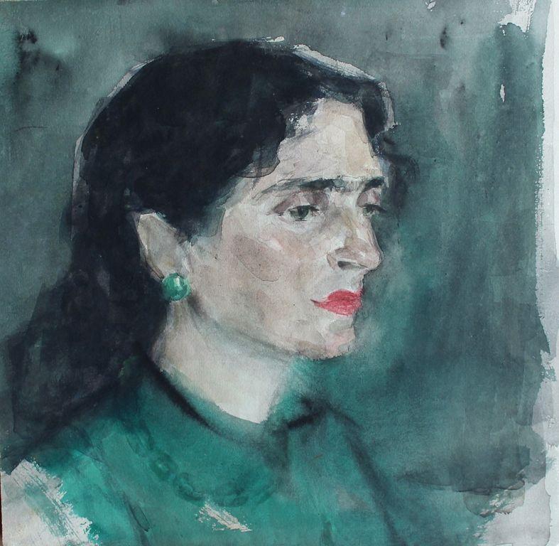 Alexandra Onufrievna Followed. Portrait of a Woman