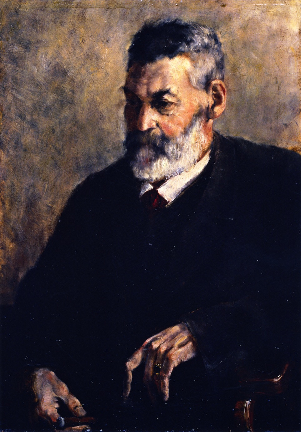 Franz Mark. Portrait of the Artist's Father