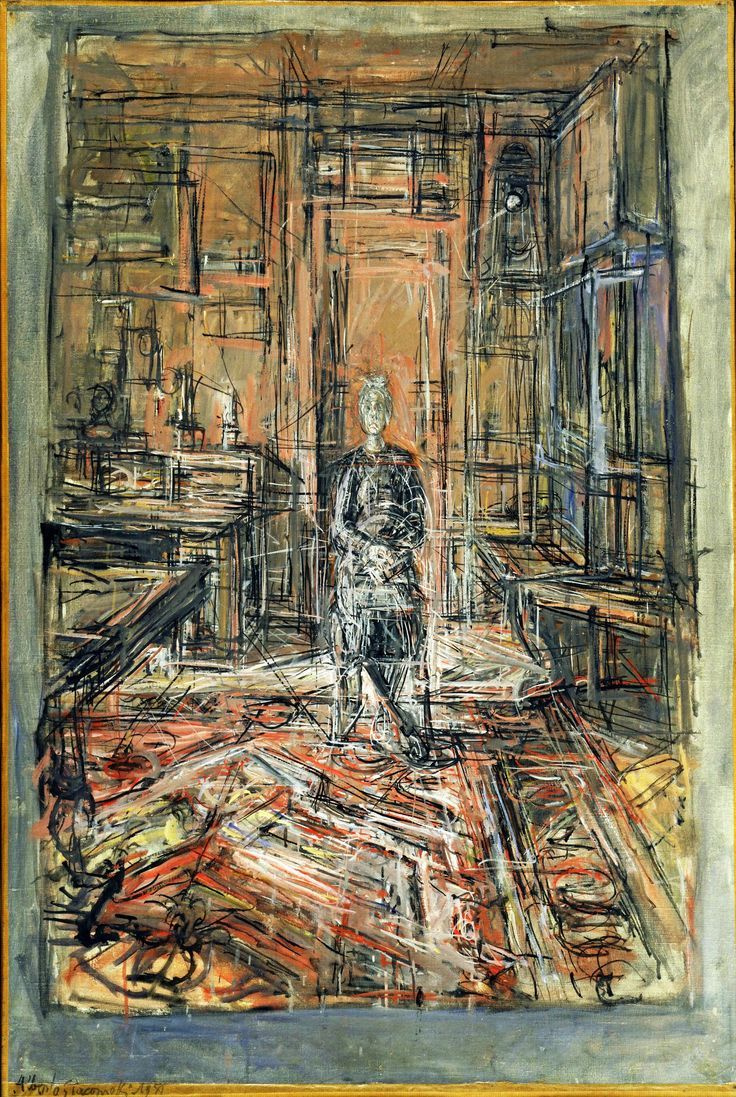 Alberto Giacometti. Portrait of the artist's mother