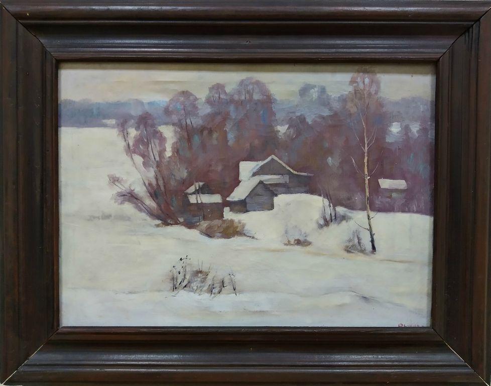 Victor Mikhailovich Rykov. Winter landscape