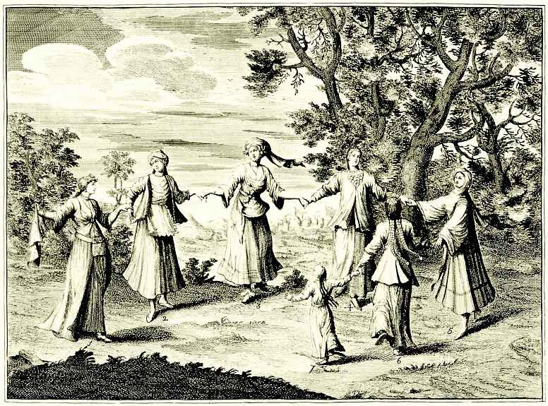 Уильям Хогарт. Танец местных народностей