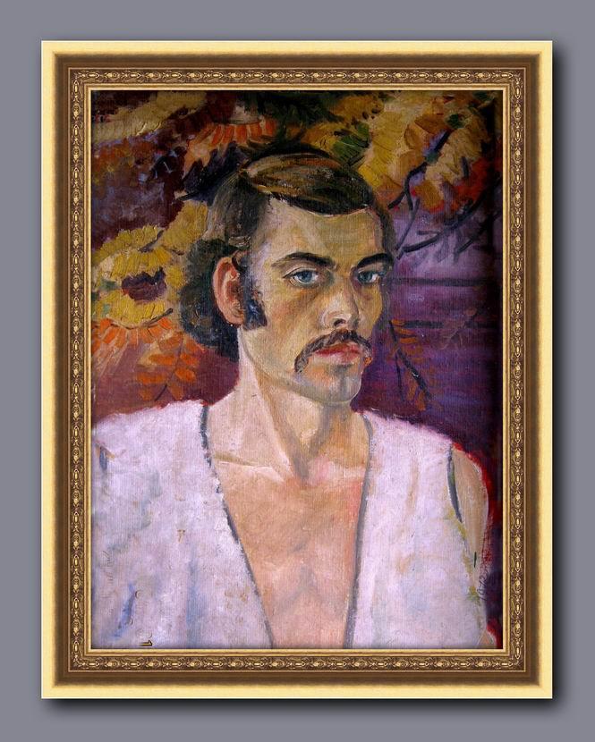 Alexander 3novev. Self-portrait