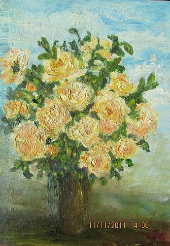 Rita Arkadievna Beckman. Tea roses