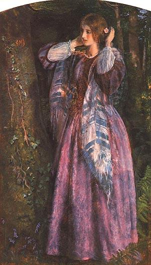 Артур Хьюз. Красавица в лесу