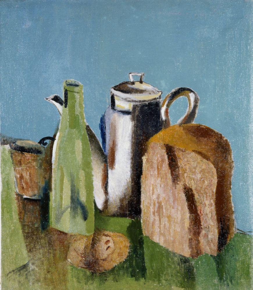 Lev Alexandrovich Yudin. Still life with bread