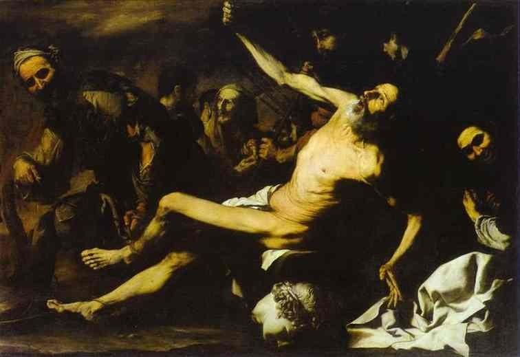 The martyrdom of St. Bartholomew