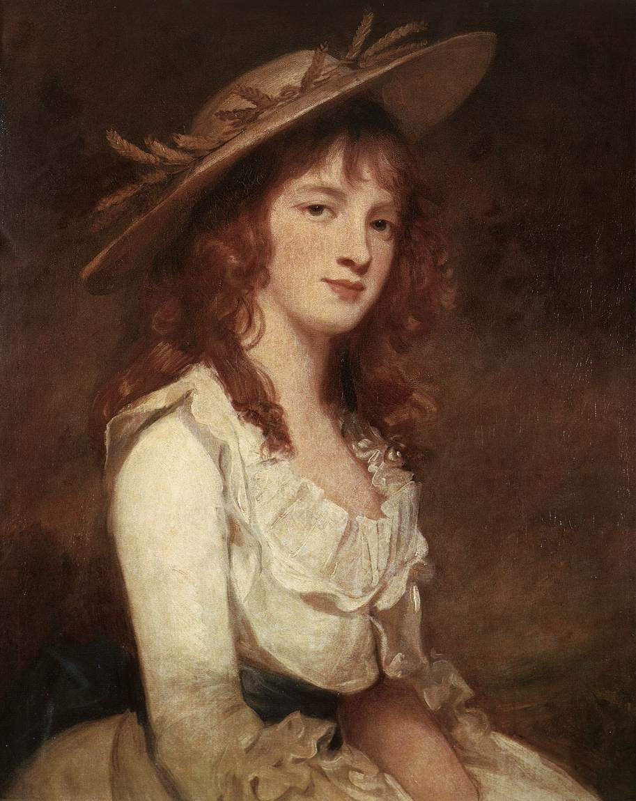 George Romney. Miss constable