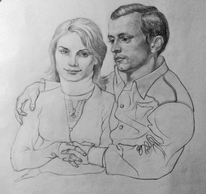 Daniil Litvinov. Портрет друзей