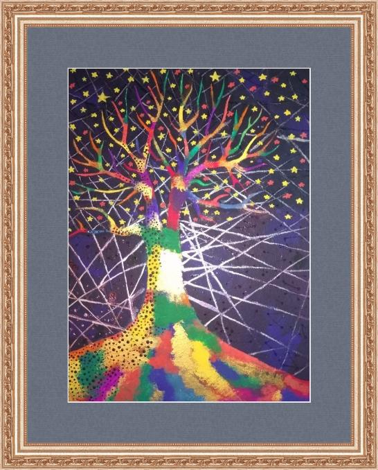 Art-Teodor Gallery. Rainbow tree