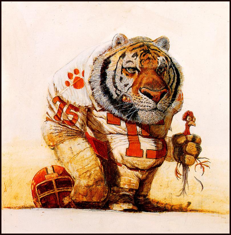 Джимми Харрис. Тигр и курица