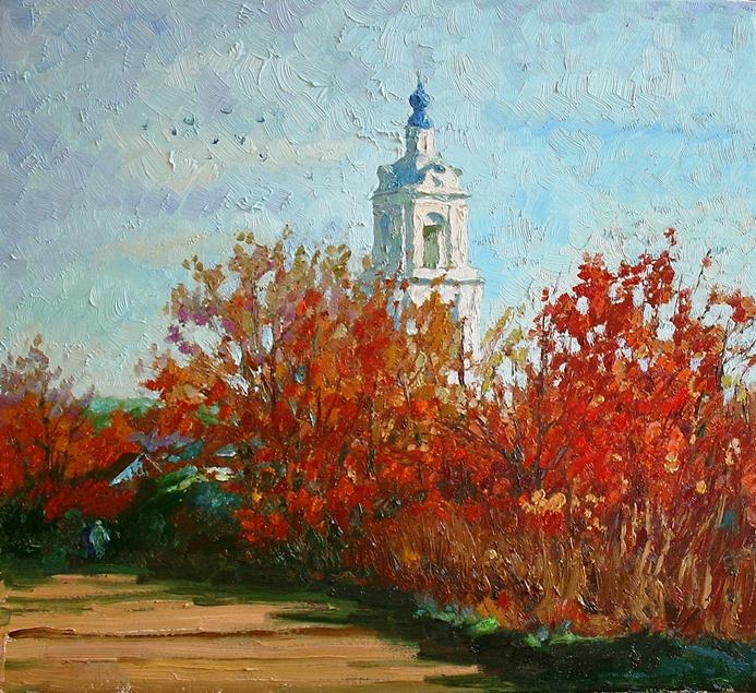 Michael Mine. Autumn in Poretsky