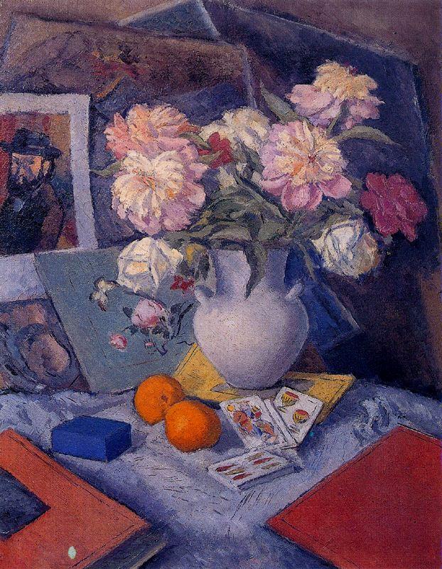 Артуро Соуто. Ваза с цветами