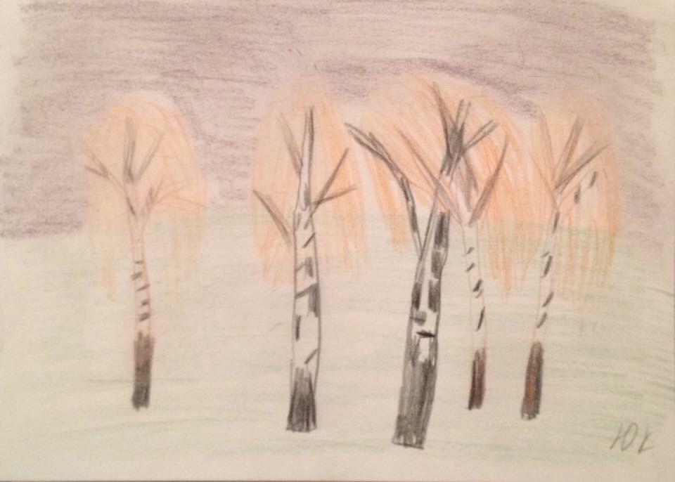 Julia Kartoshkina. Landscape
