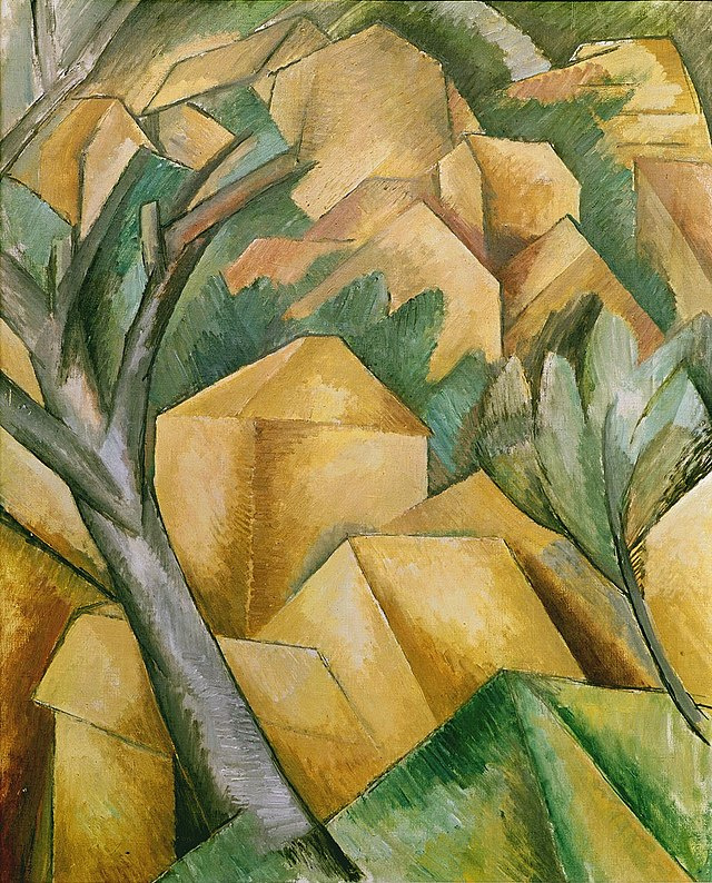 Georges Braque. Houses in l'estaque