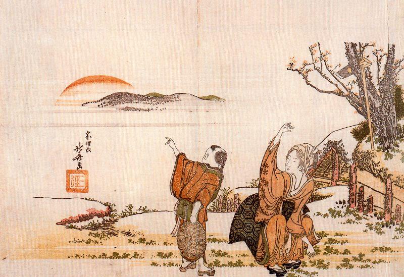 Кацусика Хокусай. Поэты