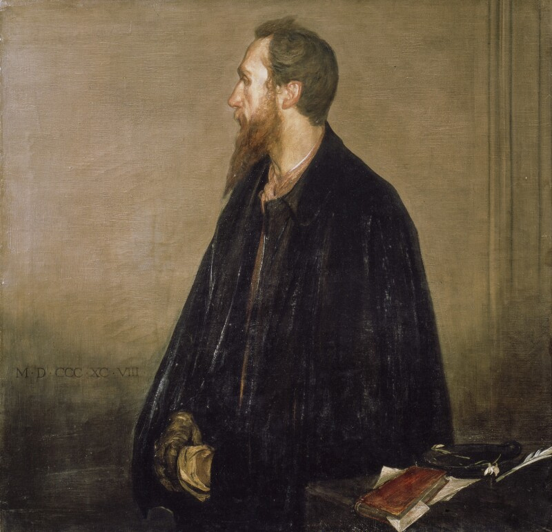 Charles Ricketts. Portrait of Charles Shannon