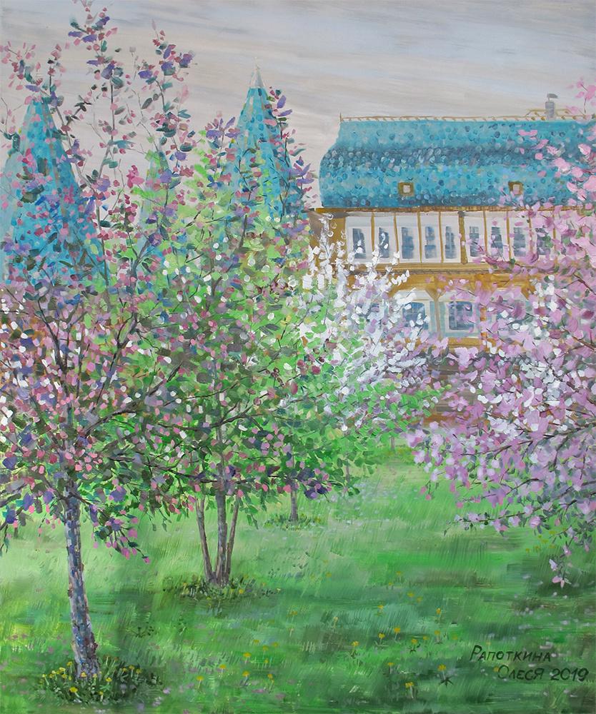 Olesya Rapotkin. Spring Terem Palace in Kolomenskoye