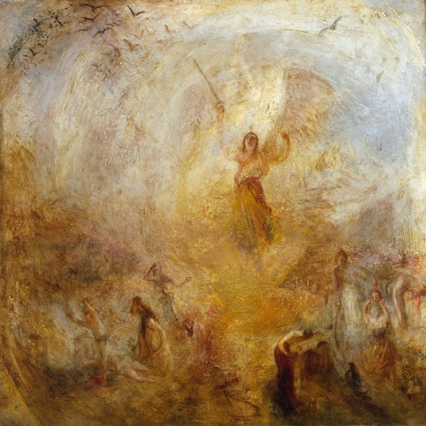 Joseph Mallord William Turner. Angel standing in the sun