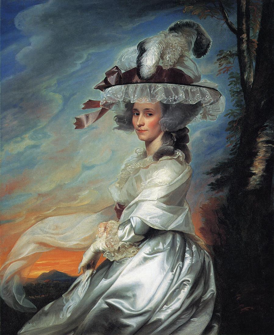John Singleton Copley. Abigail Bromfield Rogers (Mrs Daniel Denison Rogers)
