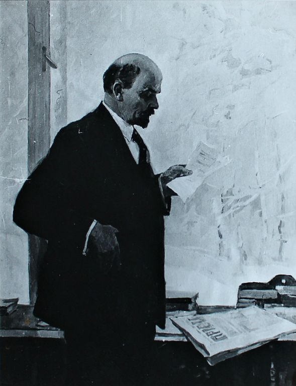 Petr Filippovich Alberti. IN AND. Lenin in Gorki