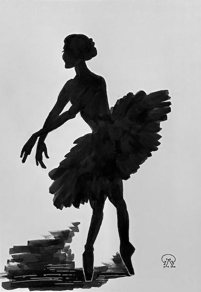 Larissa Lukaneva. Ballerina
