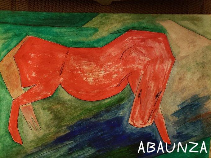 EDUARDO ABAUNZA. HORSE