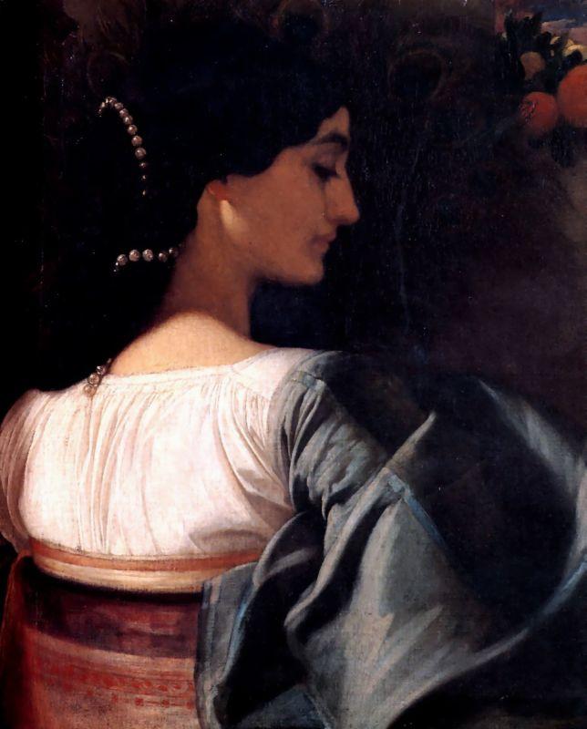 Frederic Leighton. Italian lady
